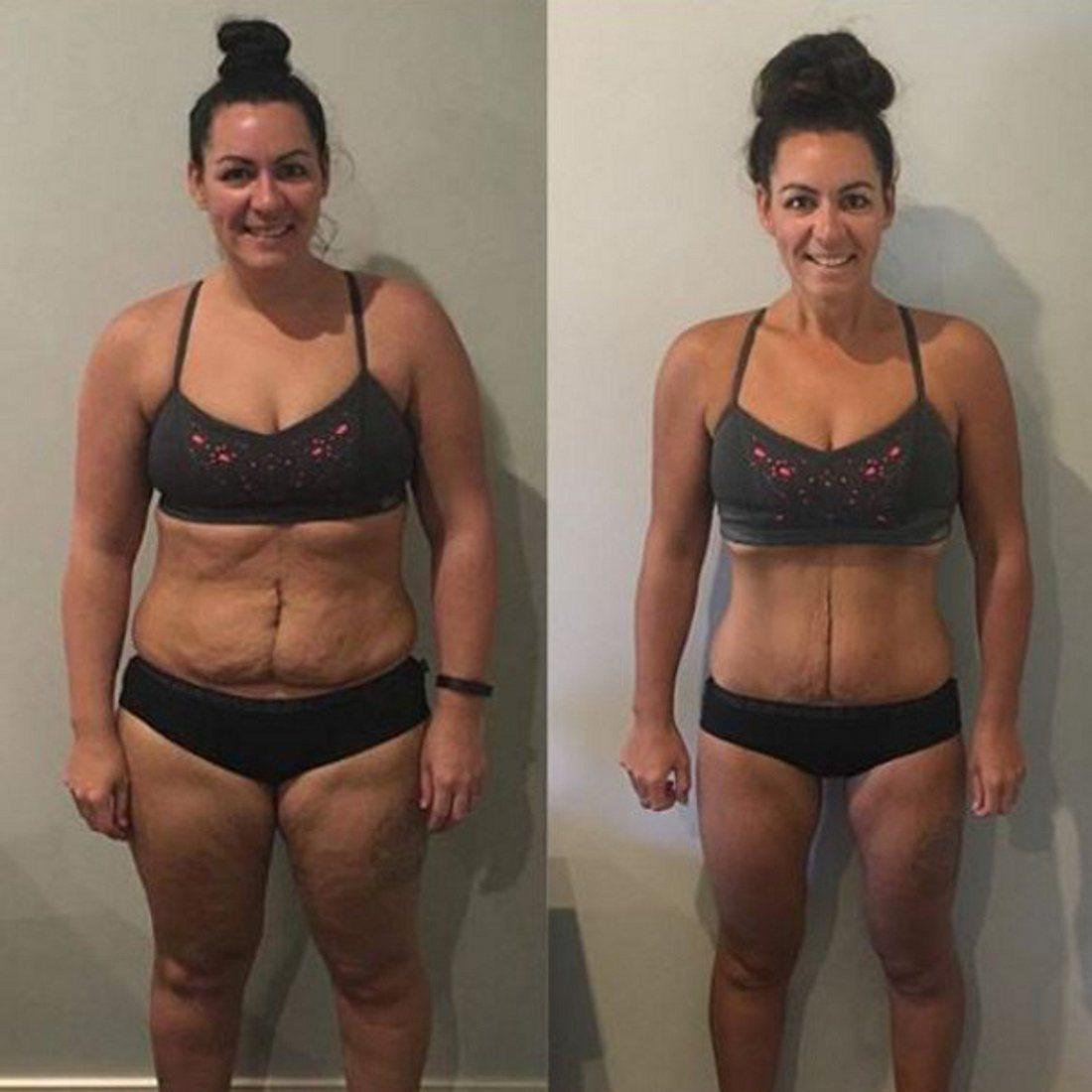 20 Kilo weniger in 6 Monaten: Dieser Trick half ihr beim Abnehmen!