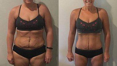20 Kilo weniger in 6 Monaten: Dieser Trick half ihr beim Abnehmen!  - Foto: Instagram/ simone_thebod