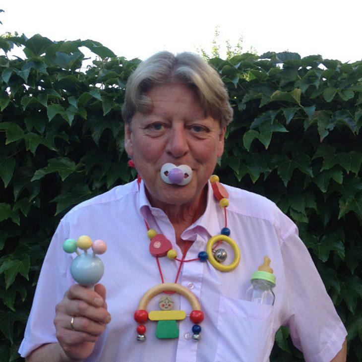 Walter Freiwald im Baby-Glück
