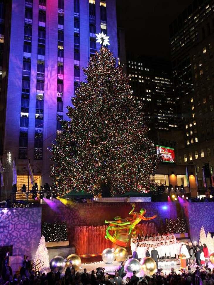 Gingen die Lichter an. Da kommt doch sofort  Weihnachtsstimmung auf oder?