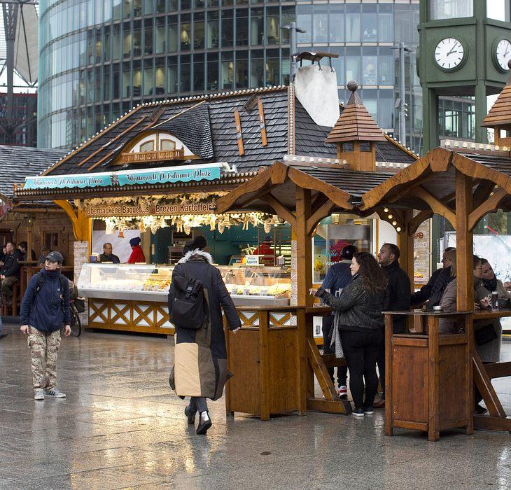 Weihnachtsmarkt in Potsdam evakuiert