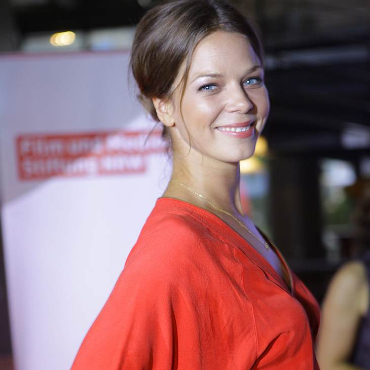 Jessica Schwarz plant eine späte Hochzeit