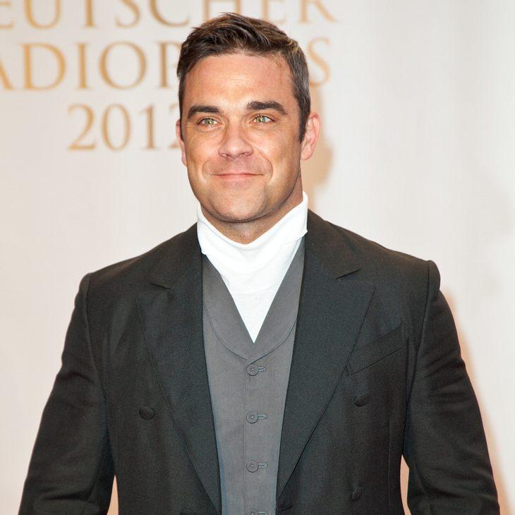 Robbie Williams begeistert beim Radiopreis