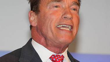 Arnold Schwarzenegger: Glücklich mit Frisur
