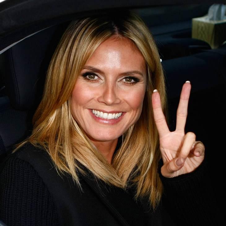 Heidi Klum: Glücklich mit ihrem Leibwächter