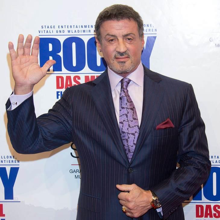 """Sylvester Stallone feiert """"Rocky""""-Premiere in Hamburg"""