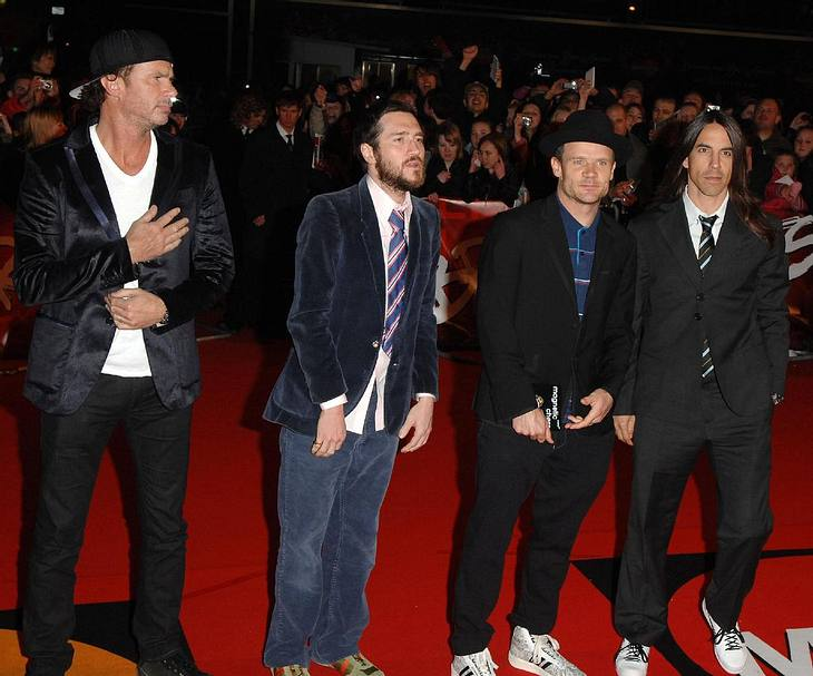 Red Hot Chili Peppers beenden Pause