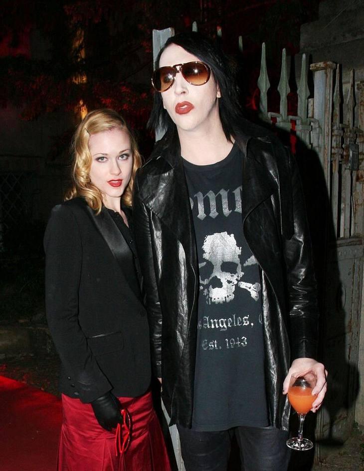 Verlobungsgerüchte um Manson und Wood