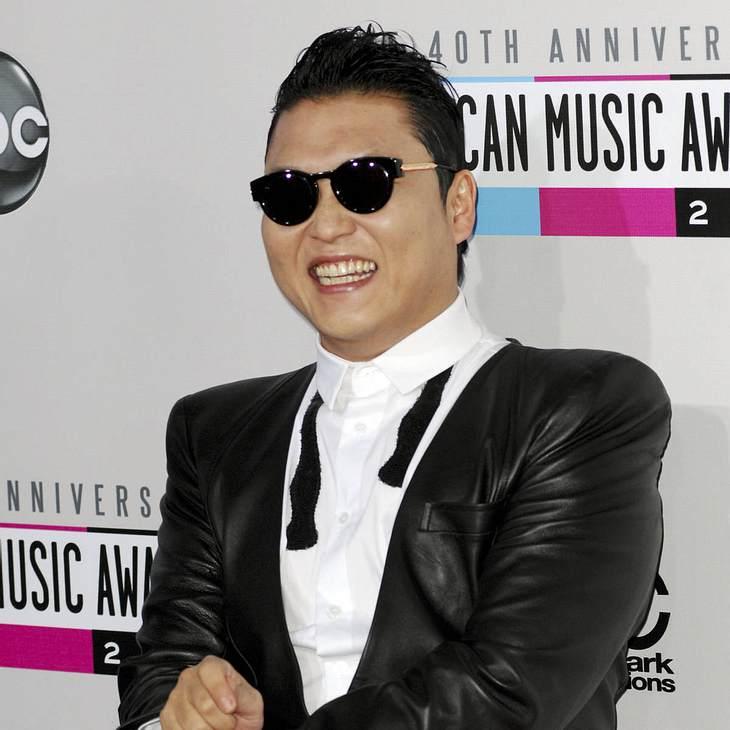 Psy mit eigener Briefmarke geehrt