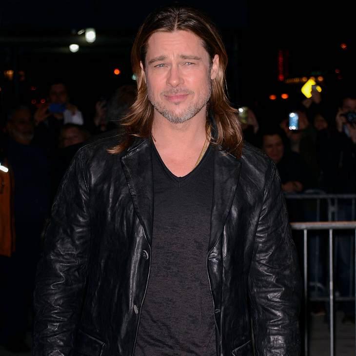 Brad Pitt setzt auf Miederware