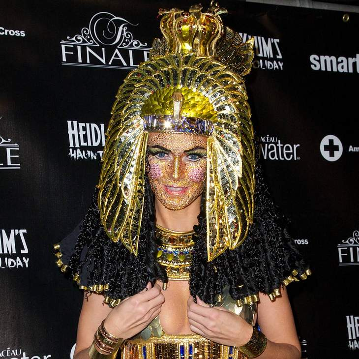 Heidi Klum feiert Halloween-Party nach