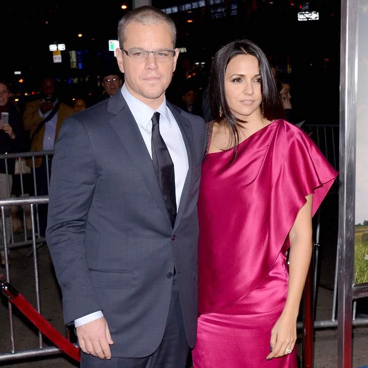 Matt Damon will Eheschwur erneuern
