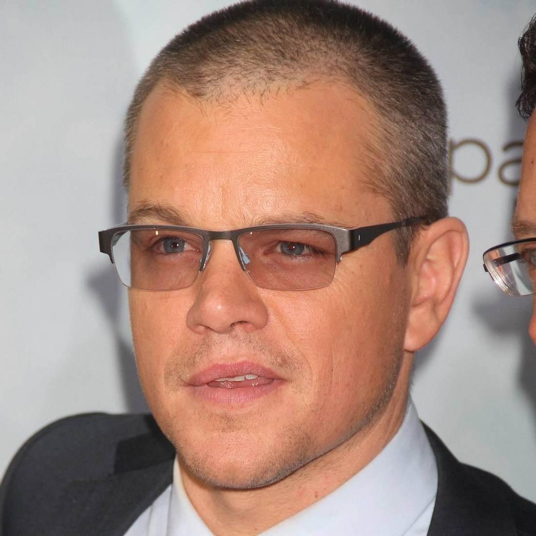 Matt Damon: Kuss mit Michael Douglas