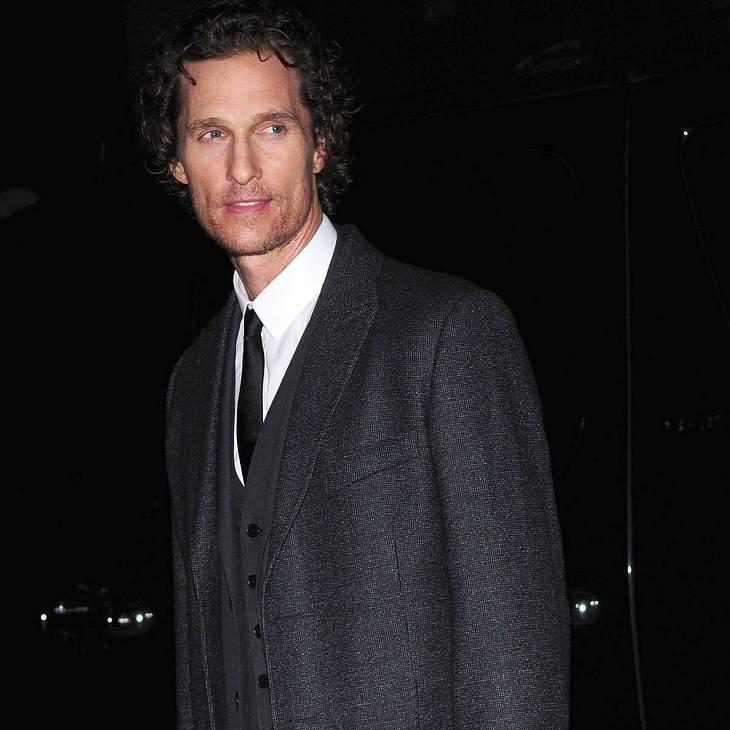 Matthew McConaughey beendet Diät mit Burger