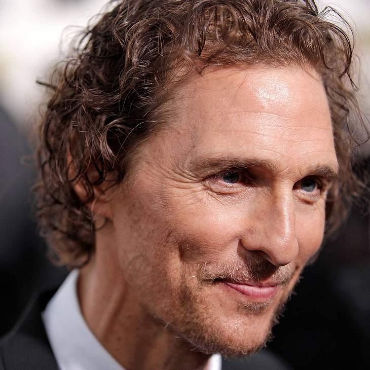 Matthew McConaughey: Wütend auf Lance Armstrong