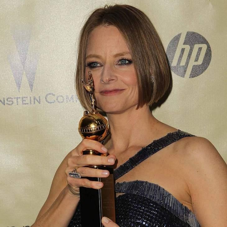 Jodie Foster sorgt bei Golden Globes für Wirbel