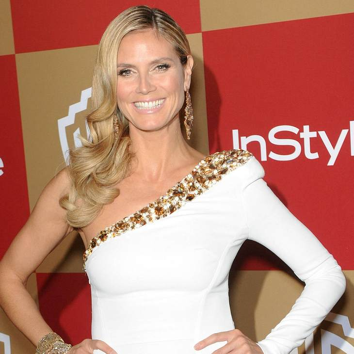 Heidi Klum tanzt in US Talk-Show