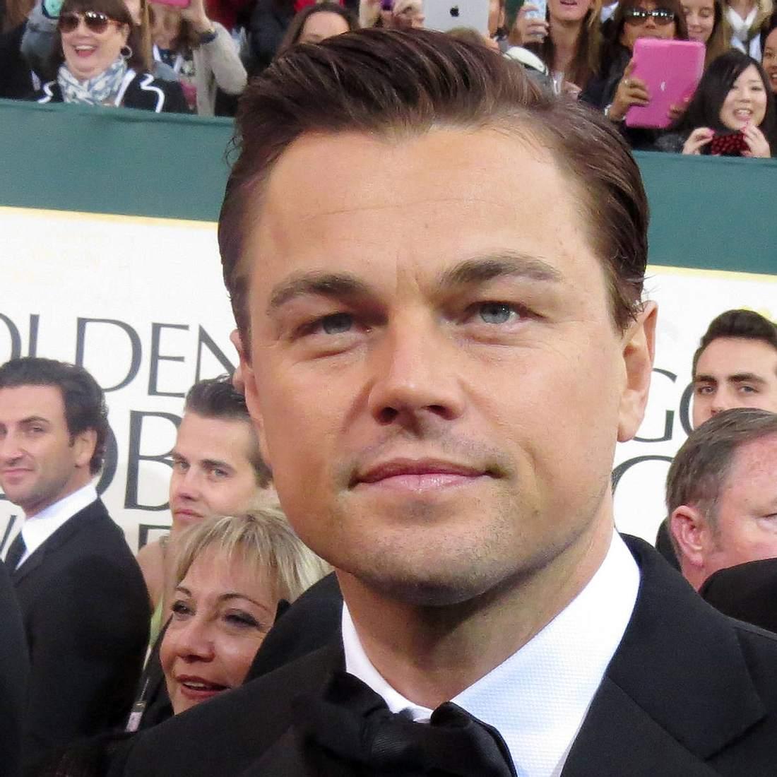 Leonardo DiCaprio erträgt Schmerz für die Kunst