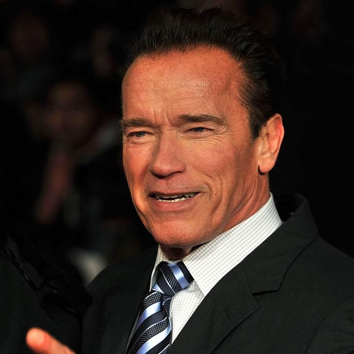 Arnold Schwarzenegger gibt Motivations-Gespräche