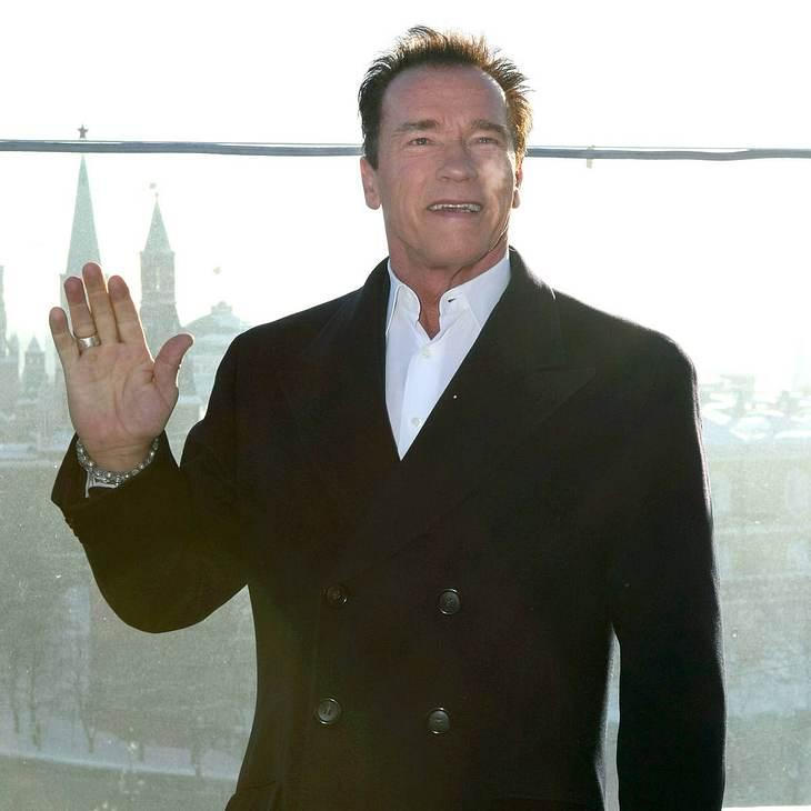 Arnold Schwarzenegger: Auch Politik ist actionreich!
