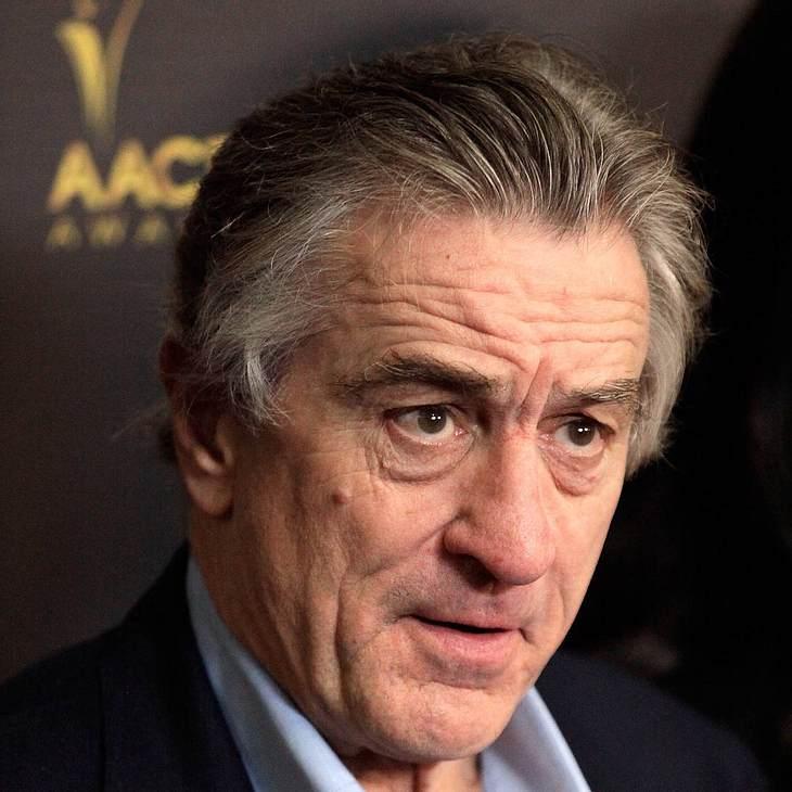 Robert De Niro behielt die Socken im Bett an