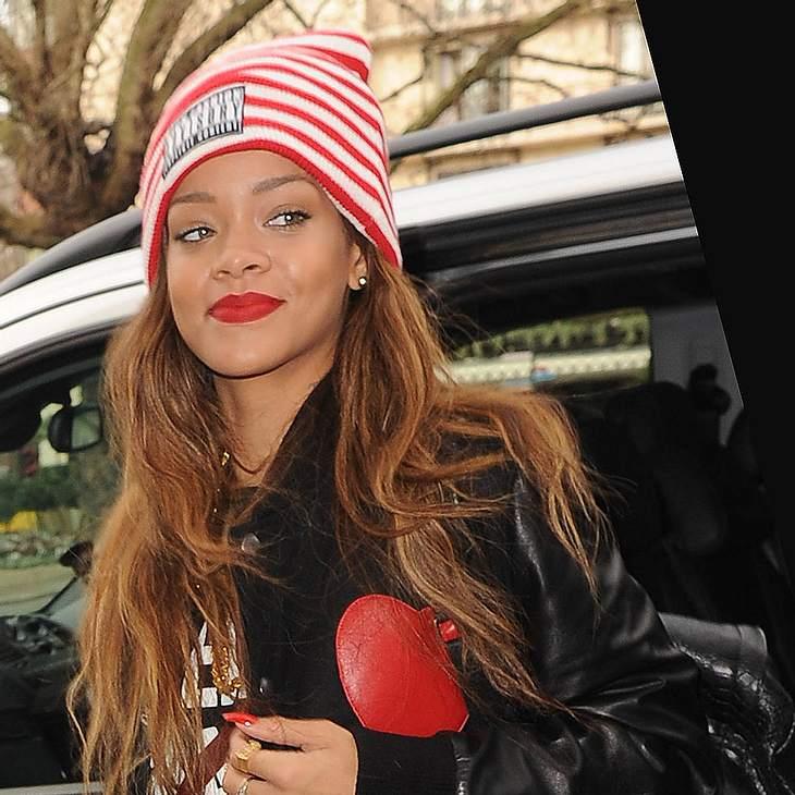 Rihanna entwirft Make-up für MAC
