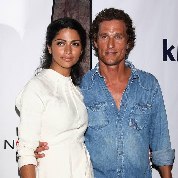 Matthew McConaughey hat geheiratet