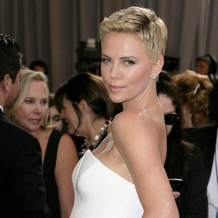 Charlize Theron: Echte Heldin bei den Oscars!