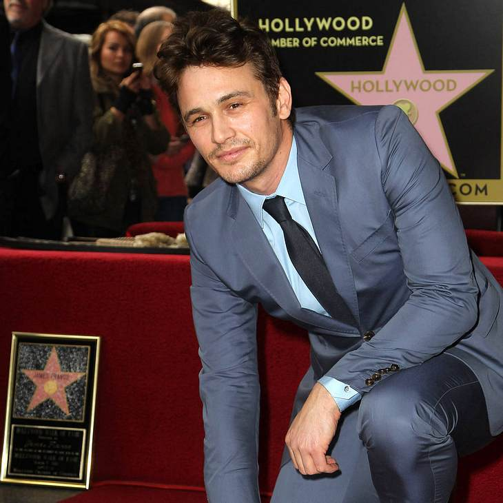 James Franco erhält Hollywood-Stern