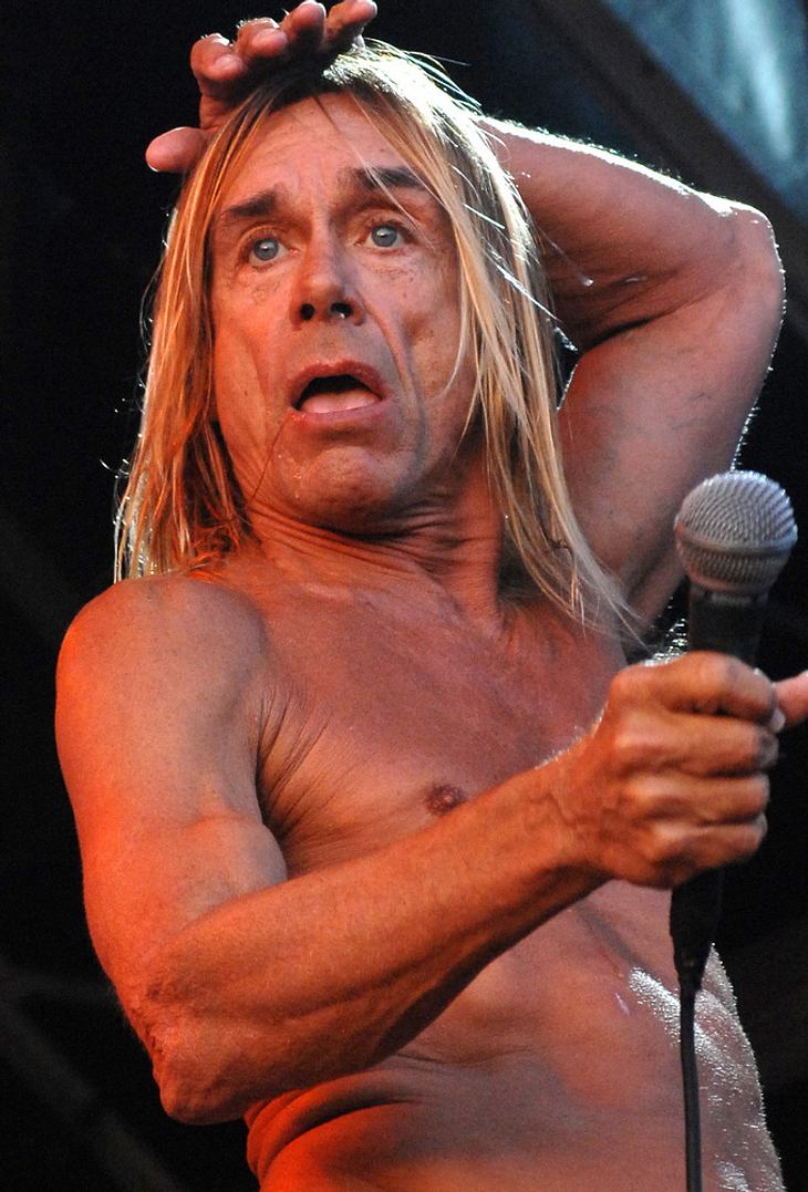 Iggy Pop gibt Stagediven nach New York-Sturz auf