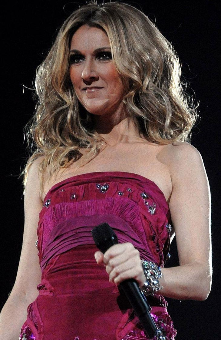Celine Dion dementiert Geburtsgerüchte