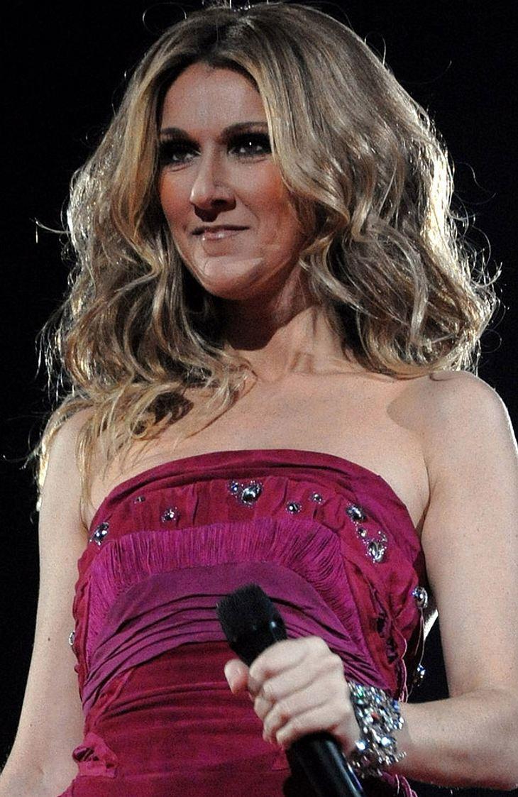 Celine Dion als Vorsichtsmaßnahme im Krankenhaus