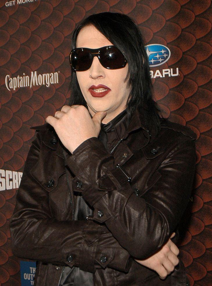 Gemälde von Marilyn Manson zu ersteigern