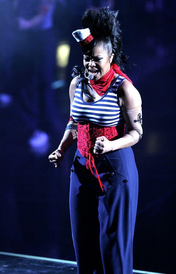 Janet Jackson eröffnet AMAs mit Hits-Medley
