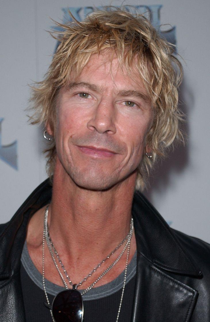 Duff McKagan mit Jane's Addiction im Studio