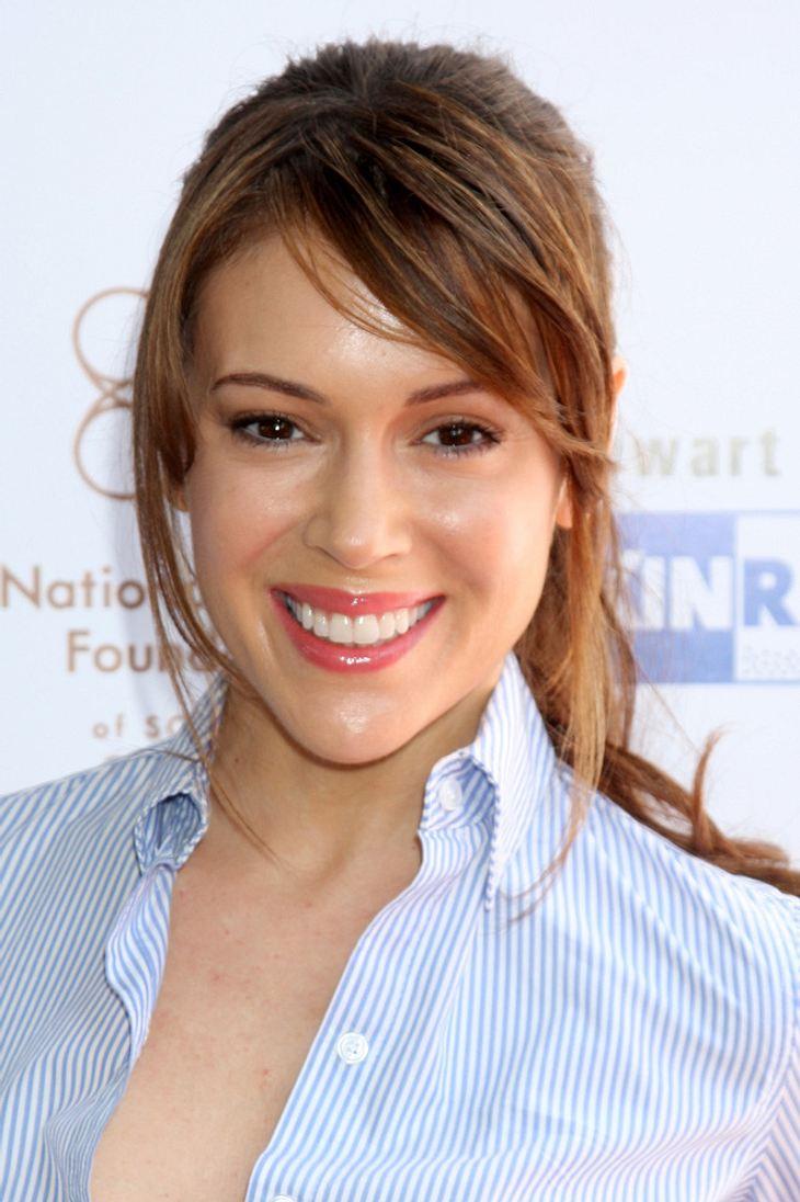 Schauspielerin Alyssa Milano erwartet ihr zweites Kind