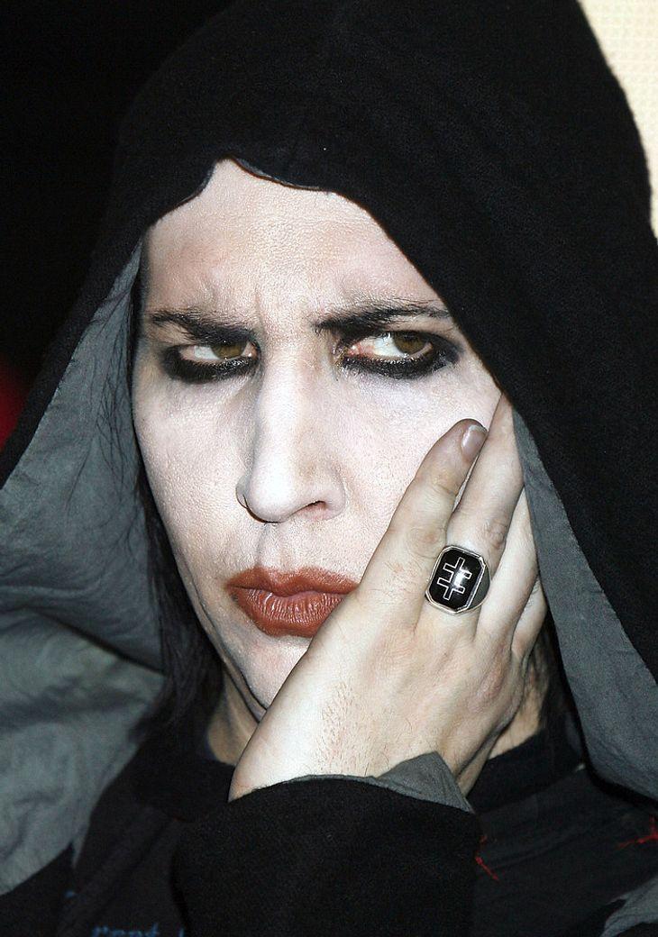"Marilyn Manson droht ""hochmütigen"" Journalisten"