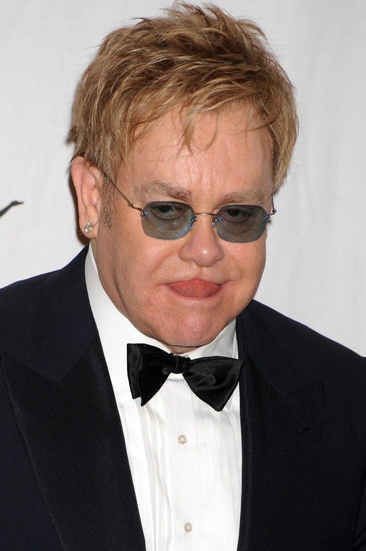 Elton John singt mit Alice In Chains für Staley-Tribut