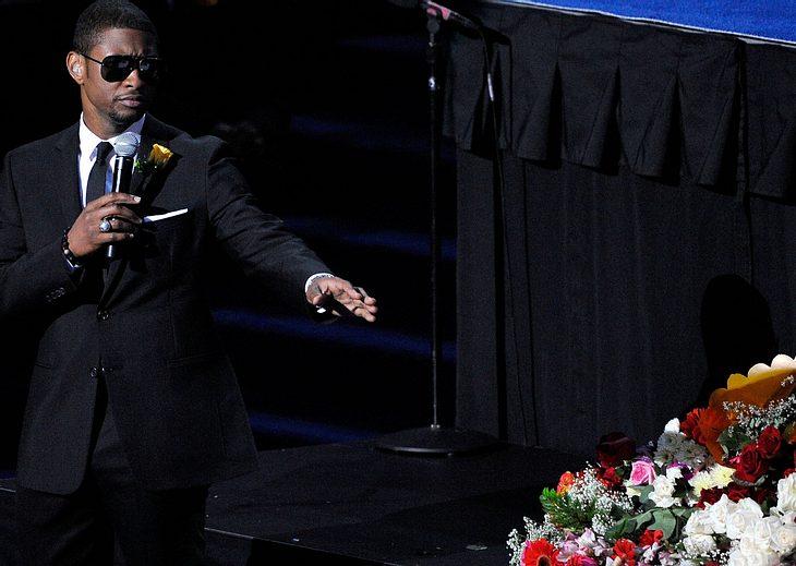 Usher befürchtete, zu bestürzt für Jackson-Tribut zu sein