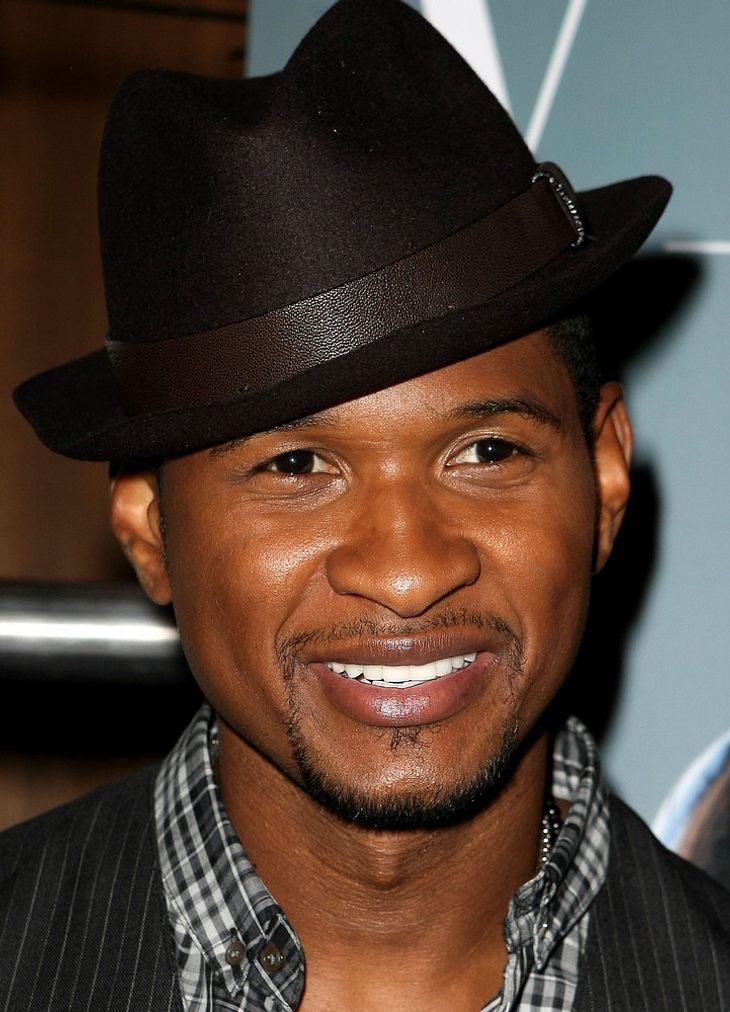 Usher ist geschieden