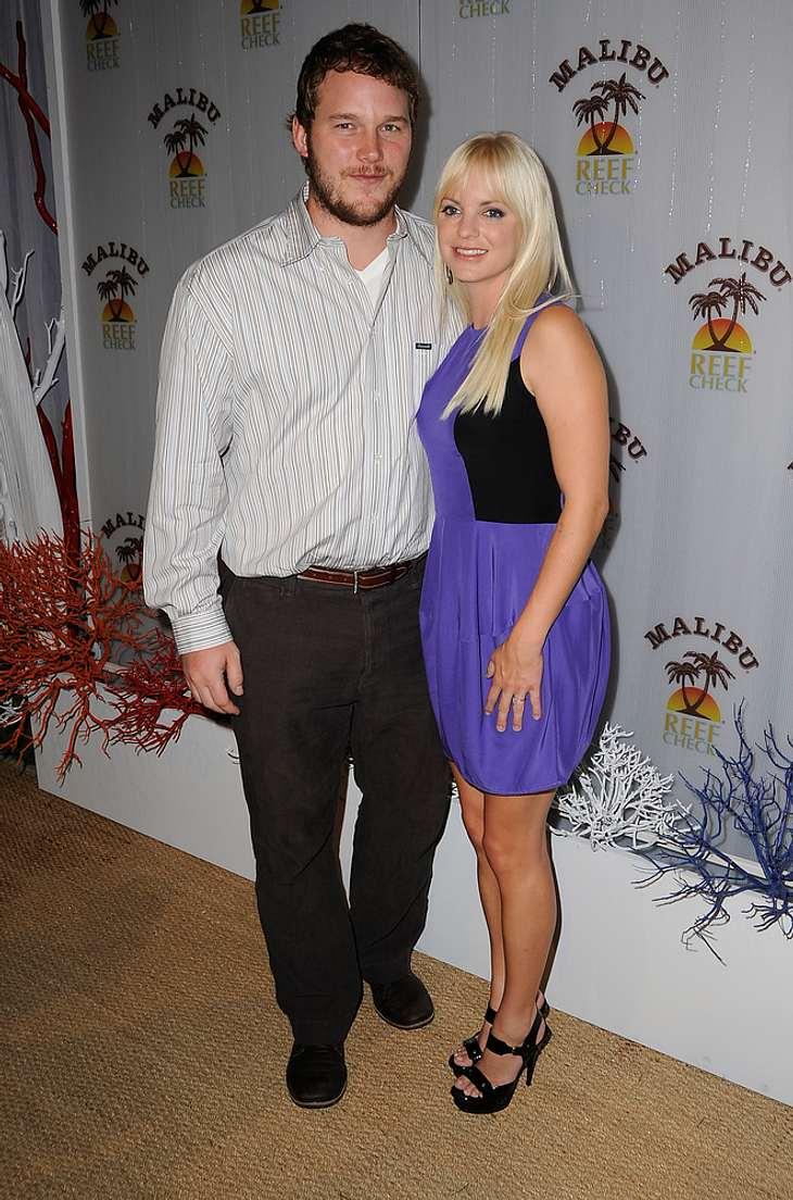 Anna Faris und Chris Pratt sind jetzt Eltern