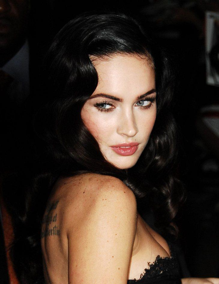 Megan Fox' Tattoo-Tribut an Mickey Rourke