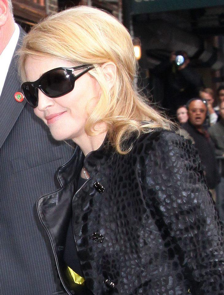 Madonna dementiert Gerüchte über Treffen mit Luz' Familie