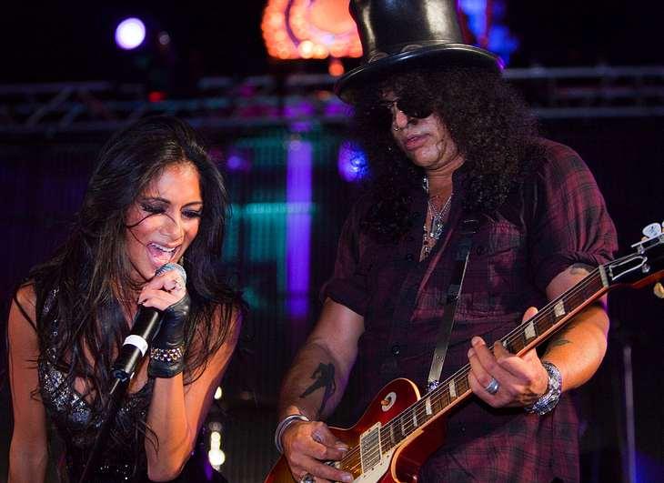 Scherzinger rockt mit Slash