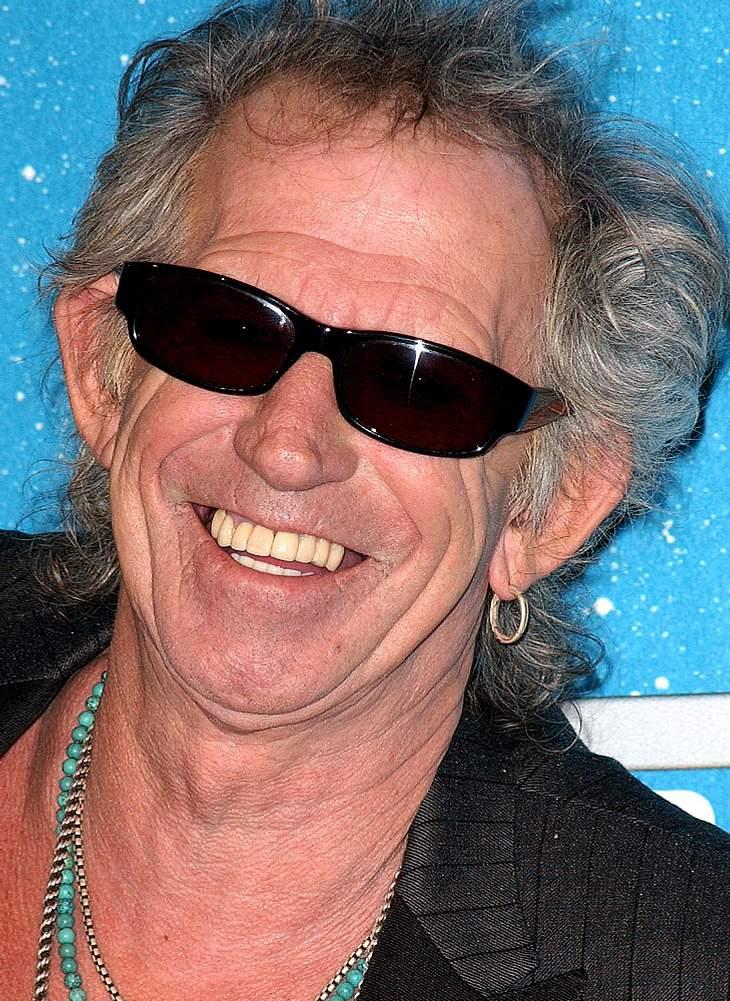 Keith Richards wieder als Pirat vor der Kamera