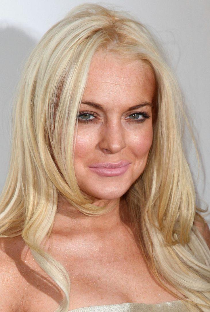 Lindsay Lohan beim Opernball