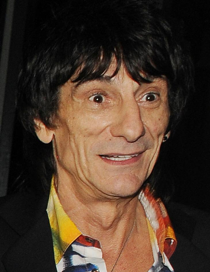Ronnie Wood verhaftet