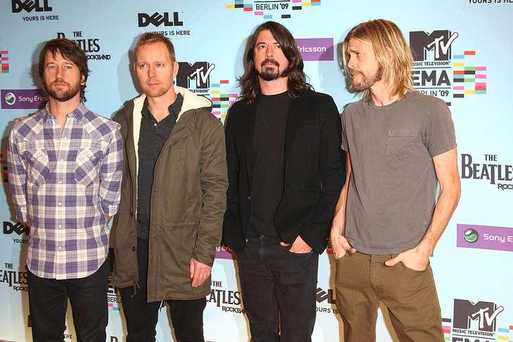 Foo Fighters arbeiten an neuem Album