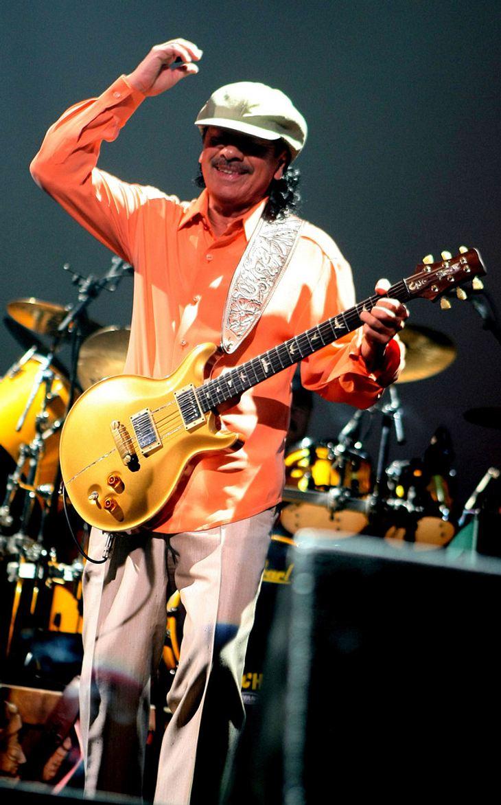 Carlos Santana: Heiratsantrag auf der Bühne