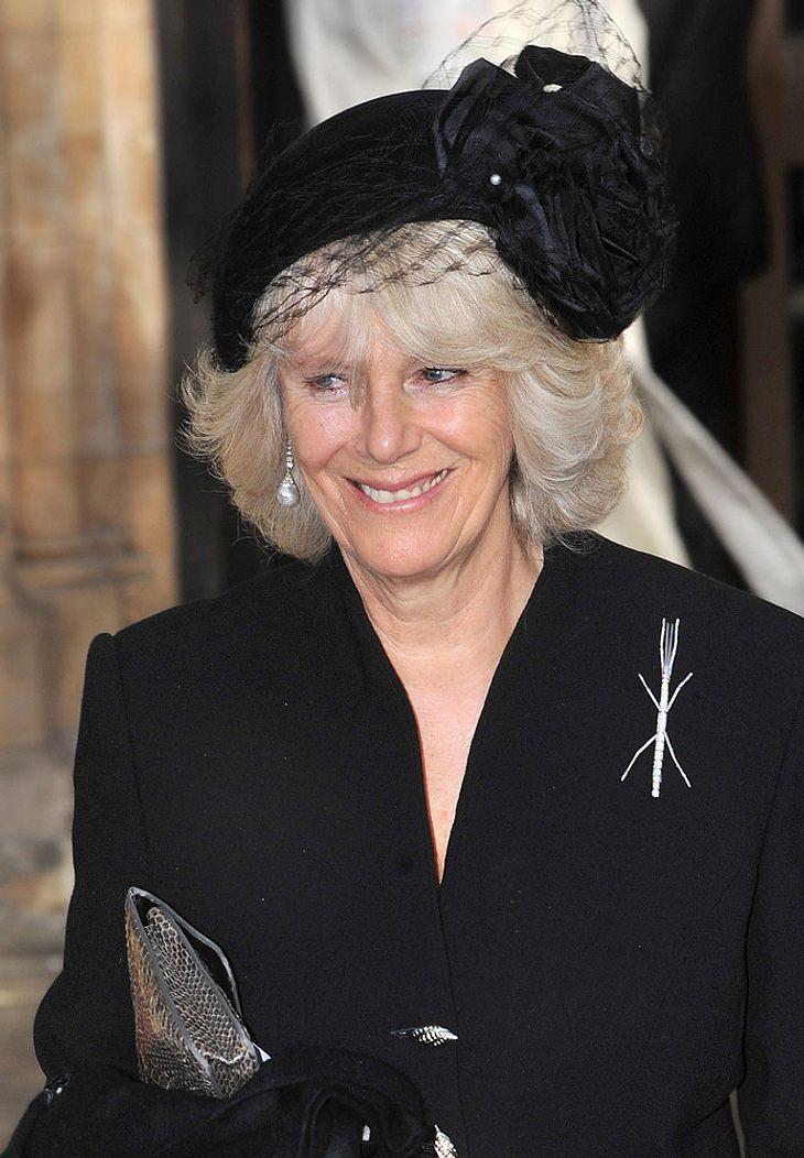 Herzogin von Cornwall: Bein gebrochen